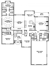 5 bedroom floor plans 2 story story house plan with bedrooms unusual bedroom plans 2 5 five