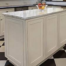 kitchen island panels center island in white cabinets with decorative door panels on