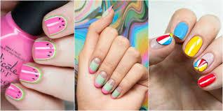 polka dot nails isadora global 28 almond nail art designs ideas