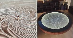 sand art table for sale sisyphus mesmerizing kinetic sand drawing tables by bruce shapiro