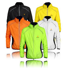 orange cycling jacket amazon com wolfbike cycling jacket jersey vest wind coat