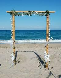 Wedding Arches Beach The 25 Best Beach Wedding Arches Ideas On Pinterest Beach