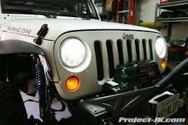 led lights for jeep wrangler truck lite jeep jk wrangler led headlight installation write up