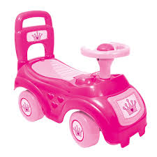 bentley pink dolu children u0027s push along car 2 colours charles bentley