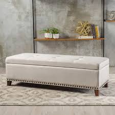 Ottoman Bench Baltimore Storage Bench