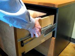 Silverline Filing Cabinet How To Remove Techline Lateral File Drawers Youtube