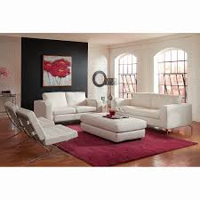 All White Living Room Set Furniture Sofa And Loveseat Sets Value City Furniture Living