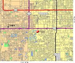 mesa az map mesa zip code map az zip code map