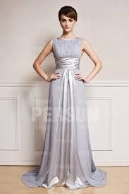 robe longue de soirã e pour mariage robe de soirée longue pour mariage à traîne chapelle encolure