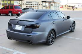 lexus metallic matte gray metallic car wrap dallas zilla wraps