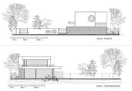Home Design Plan View Stunning Modern Aqua House In Argentina Side Elevations Plan View