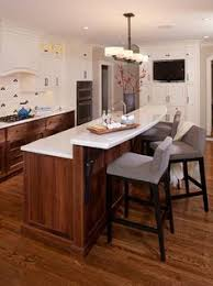 kitchen island breakfast bar ideas like the angles this has wastes space but adds character my