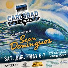 carlsbadcrawl carlsbad art and culture sean dominguez mural carlsbad