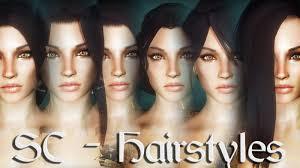 skyrim mods sc hairstyles youtube