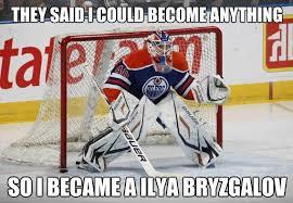 Hockey Goalie Memes - hockey memes on twitter devan dubnyk http t co jomqmyqh