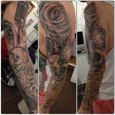 sleeves ideas black grey top 100 best sleeve tattoos for cool