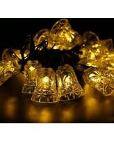 Patio Decorative Lights Amazing Fall Savings On String Lights 2 Pack Led Solar