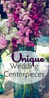 unique centerpieces unique wedding centerpieces blissfully domestic