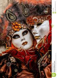 glamorous and romantic couple with beautiful eyes and venetian
