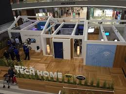 best home tech best buy opens connected home display in mall of america