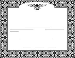 download stock certificate template 2 for free tidyform