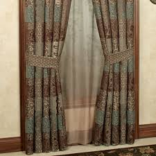 Chocolate Curtains Eyelet Galleria Ii Window Treatment By Croscill