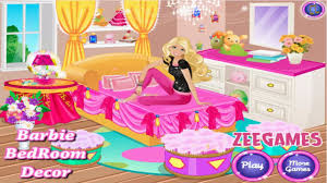 barbie bedroom decor barbie video games for girls youtube