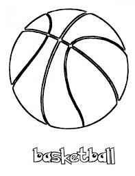 free basketball coloring pages print 415120