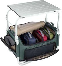 camp pack n prep tote table this is incredible for those of us