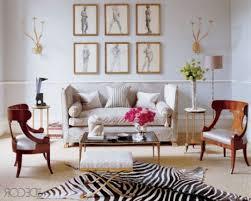 shabby chic lounge room sofa walnut wall shelves gray accent