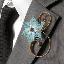 gold boutonniere blue and gold boutonniere dusty from accented