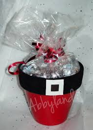 santa flower pots filled with hugs u0026 kisses craft