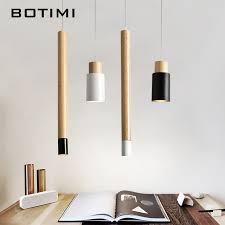 pendant kitchen light fixtures botimi nordic designer pendant lights wooden dining light modern