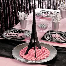 interior design awesome cheap paris themed party decorations