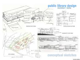 Floor Plan Of A Library by Design Thesis Public Library B Arch May 2011 On Behance