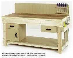 wooden workbench work bench pinterest furniture plans