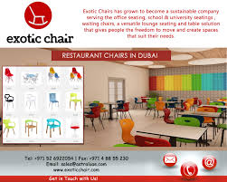 exotic chairs offers a vast selection of quality commercial
