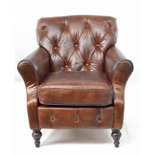 Armchair Legs Sherlock Leather Armchair Vintage Leather Chair Fads