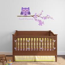 Owl Wall Decor by Tree Decals For Nursery Tree Wall Decor Stickers