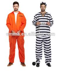 Halloween Jail Costumes Sales Halloween Prisoner Convict Costume Party