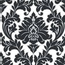 black and white wallpaper ebay black and silver wallpaper black and silver damask wallpaper