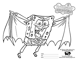 Halloween Coloring Books Full Size Coloring Pages Of Spongebob Coloring Pages