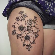 the 25 best upper thigh tattoos ideas on pinterest thigh