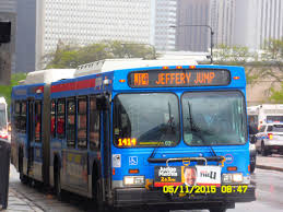 Cta Bus Route Map by Chicago Transit Authority Jeffery Jump Limited Stops To Ogilvie