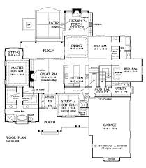 2500 Sq Ft Ranch Floor Plans 138 Best House Plans Images On Pinterest Dream House Plans Home