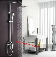 Dofaso Rain And Waterfall Shower Head Water Saving Hand Shower - Faucet sets bathroom 2