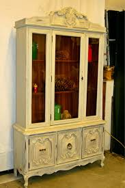 laurel u0027s attic warm white china cabinet sold