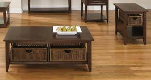 coffee table coffee and end table set lakewood basket black