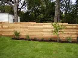 Types Of Fencing For Gardens - wood fences u2013 austex fence and deck
