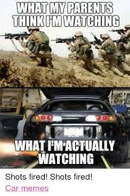 Shots Fired Meme - what my parents think watching what pm actually watching pcom